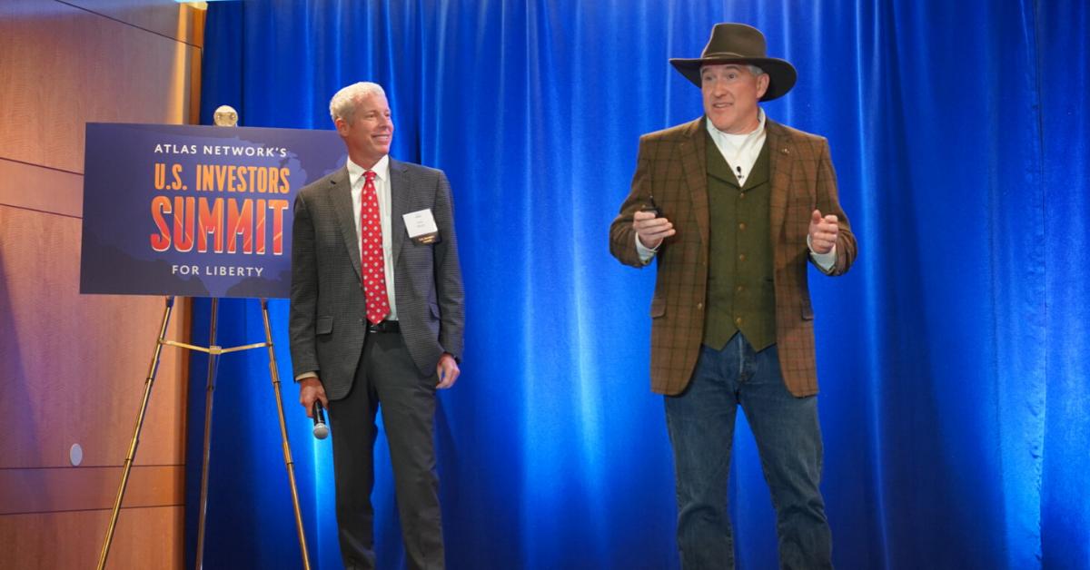 Investors speak at the U.S. Investors Summit.