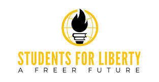 Students for Liberty logo featuring a torch.