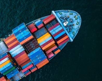 Container ship stock