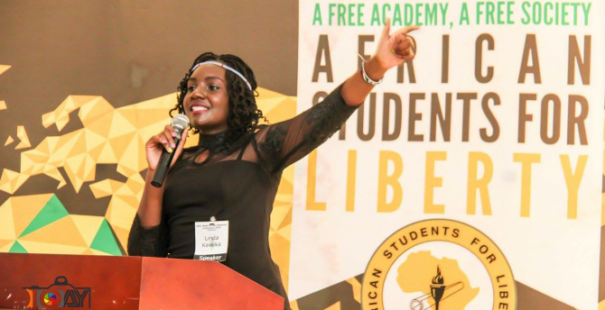 Linda speaking at the SFL West African Regional Conference 2016 in Ibadan, Nigeria.