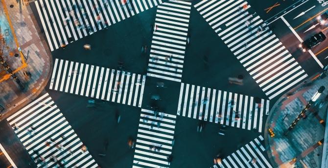 Crosswalk stock