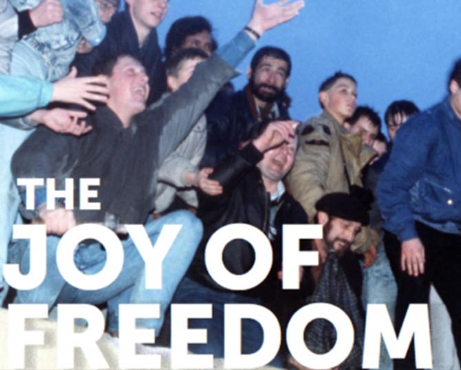 Joy of freedom