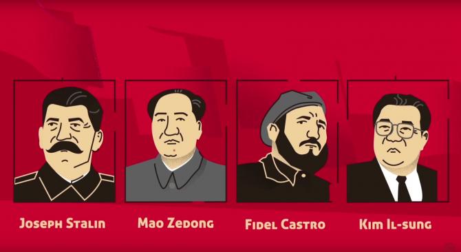 Communism Leaders graphic.