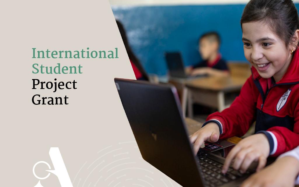 International Student Project Grant 08