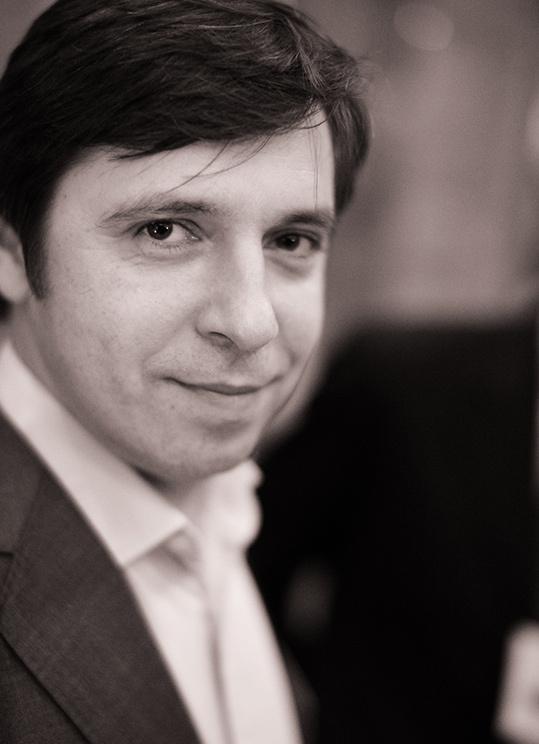 A black and white photo Vladimir.